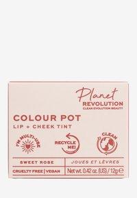 Revolution Planet - PLANET REVOLUTION THE COLOUR POT - 2-in-1: lip & wang - sweet rose - 3