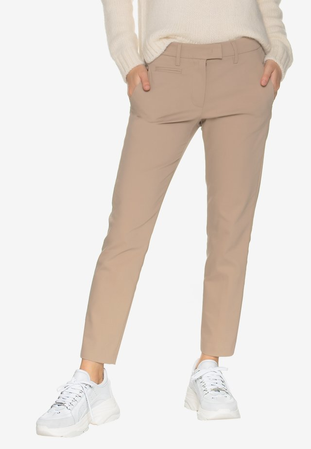 Trousers - hazelnut