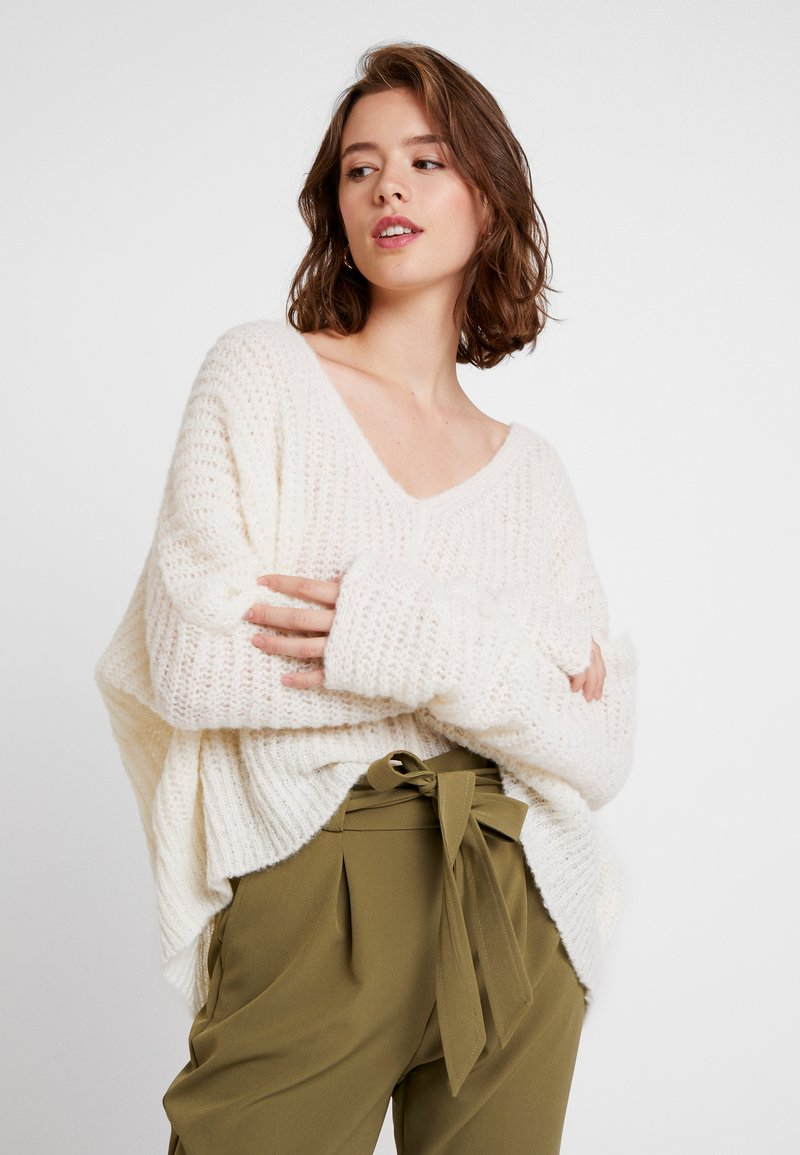 Free People - MOONBEAM - Svetr - ivory