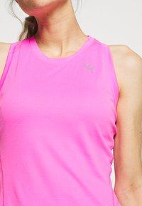 Puma - IGNITE TANK - Camiseta de deporte - luminous pink - 4