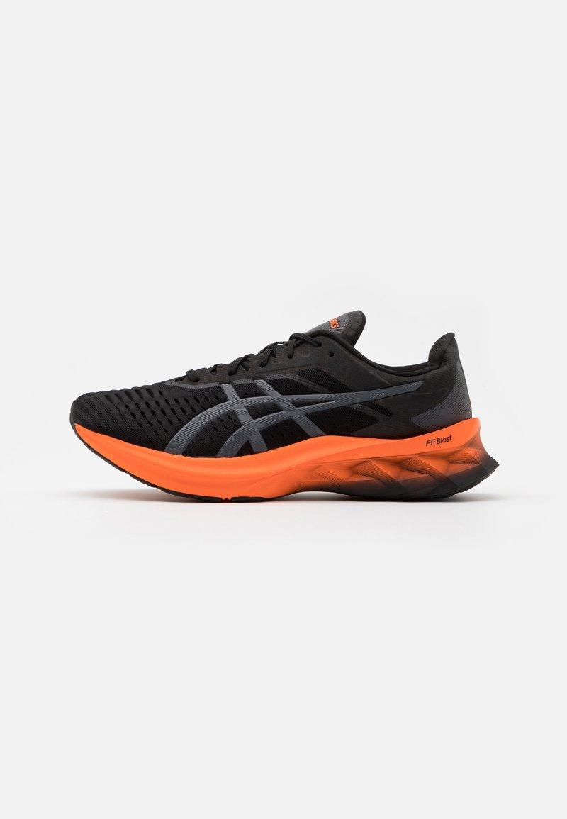 ASICS - NOVABLAST - Neutral running shoes - black/carrier grey