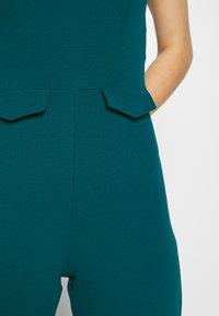 WAL G. - SERENITY PLUNGE - Jumpsuit - dark teal blue - 6