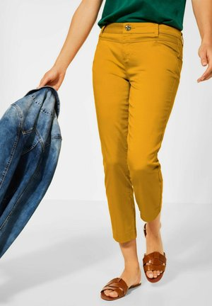 Straight leg jeans - gelb