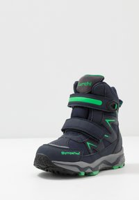 Lurchi - LOMMY SYMPATEX - Winter boots - navy/green - 2