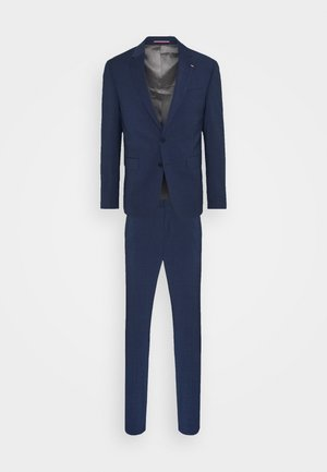 FLEX CHECK SLIM FIT SUIT - Suit - blue