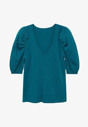 BONNIE - T-shirt con stampa - petrolblau