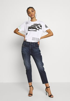 D-FAYZA - Relaxed fit jeans - blue denim