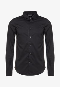 Emporio Armani - CAMICIA SLIM FIT - Camisa elegante - nero - 4