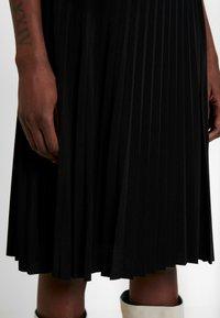Anna Field - Plisse A-line mini skirt - A-line skjørt - black - 4