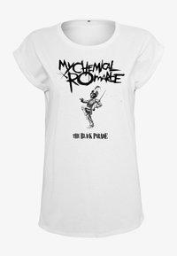 Merchcode - MY CHEMICAL ROMANCE - Print T-shirt - white - 7
