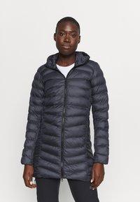 Salomon - SIGHT STORM HOODIE  - Winter coat - ebony - 0