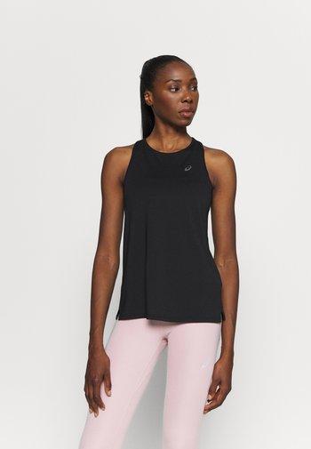 RACE SLEEVELESS - Camiseta de deporte - performance black