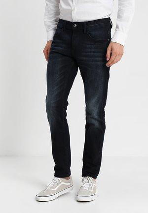 PIERS - Slim fit jeans - blue black denim