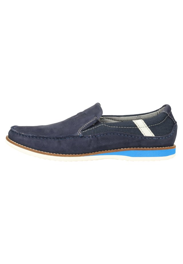 DANIEL HECHTER SLIPPER - Loafers - dark blue 4100