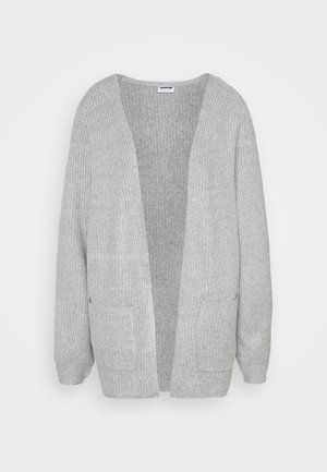 NMLUKE CARDIGAN - Cardigan - light grey melange