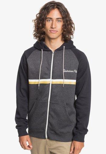 EVERYDAY SCREEN ZIP - Zip-up sweatshirt - dark grey heather