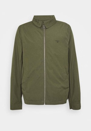 ESSENTIAL CASUAL - Summer jacket - dusty olive