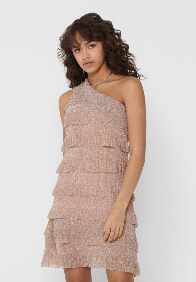 Sukienka koktajlowa - sand
