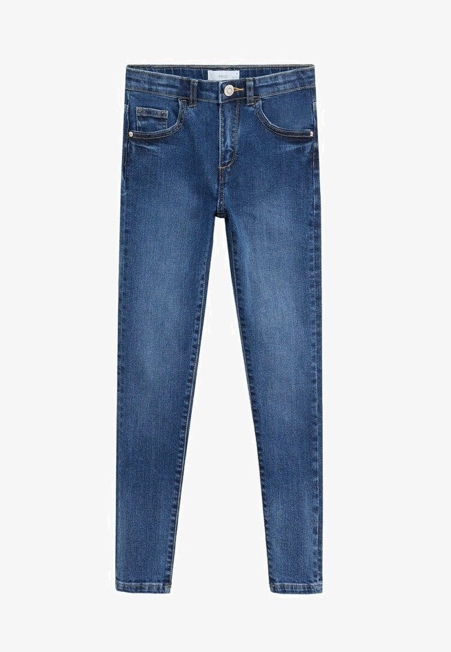 Mango - SKINNY - Jeans Skinny Fit - blu scuro