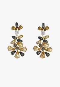 Pieces - PCGREY EARRINGS  - Orecchini - gold-coloured/grey - 1