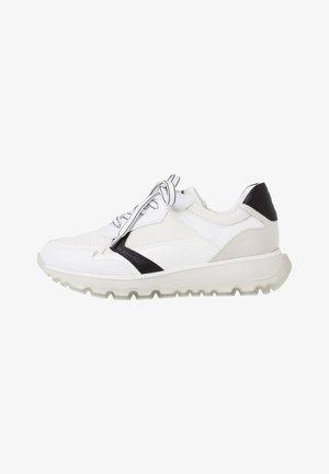 Sneakers laag - white/black