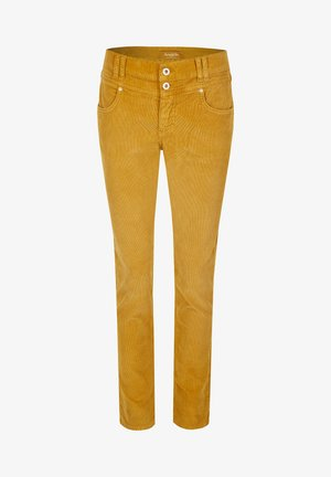 COLOURED CORD - Jeans Skinny Fit - dunkelgelb