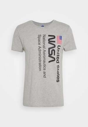 NASA UNISEX - T-shirt z nadrukiem - grey