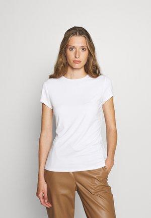 CALMIN TEE - Jednoduché triko - white
