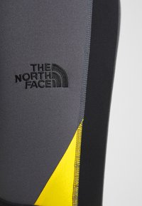 The North Face - STEEP TECH - Leggings - Trousers - vanadis grey/black/lightning yellow - 4