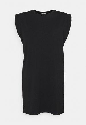OBJSTEPHANIE JEANETTE - Jersey dress - black