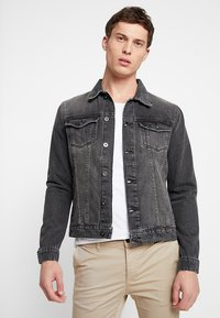 Pier One - Denim jacket - grey denim - 0