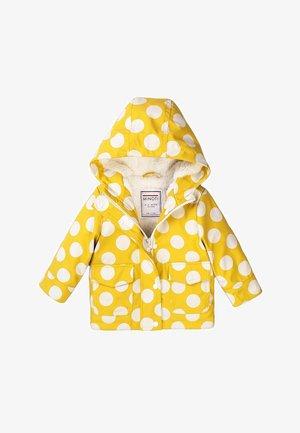 Winterjas - mustard/white