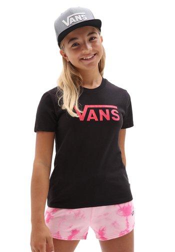 GR PREDATOR - Print T-shirt - black