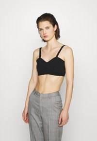 Who What Wear - THE BRALETTE - Top - black - 0