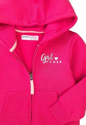 Sweat à capuche zippé - pink