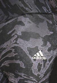 adidas Performance - Tights - black/white - 5