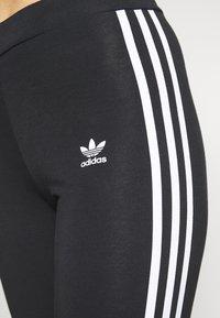 adidas Originals - STRIPES COMPRESSION - Leggings - black - 3
