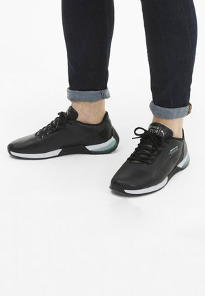 Trainers - p blk spectra green p blk