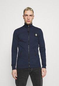 G-Star - ZIP THROUGH TRACK TWEETER - Training jacket - sartho blue - 0