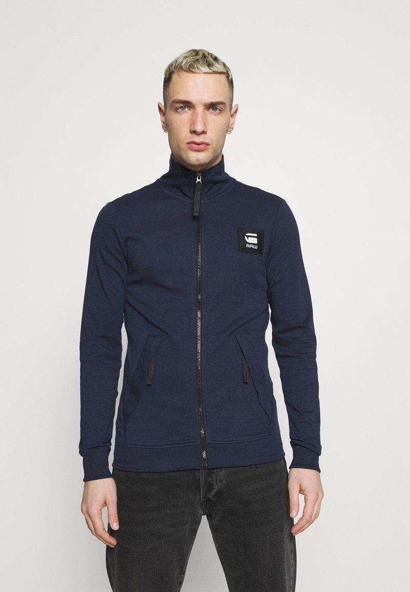 G-Star - ZIP THROUGH TRACK TWEETER - Training jacket - sartho blue