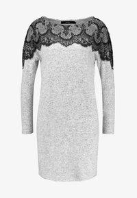Vero Moda - VMBLIMA BOATNECK DRESS - Jumper dress - light grey melange/black - 3