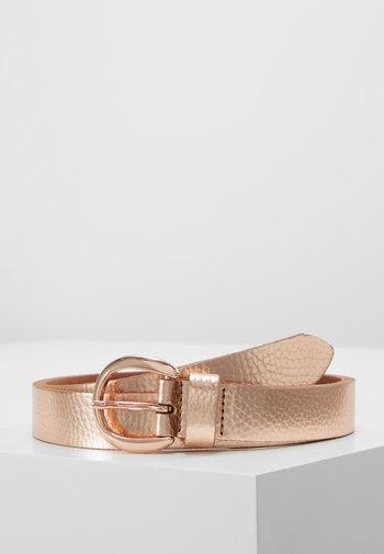 Belt - rose gold