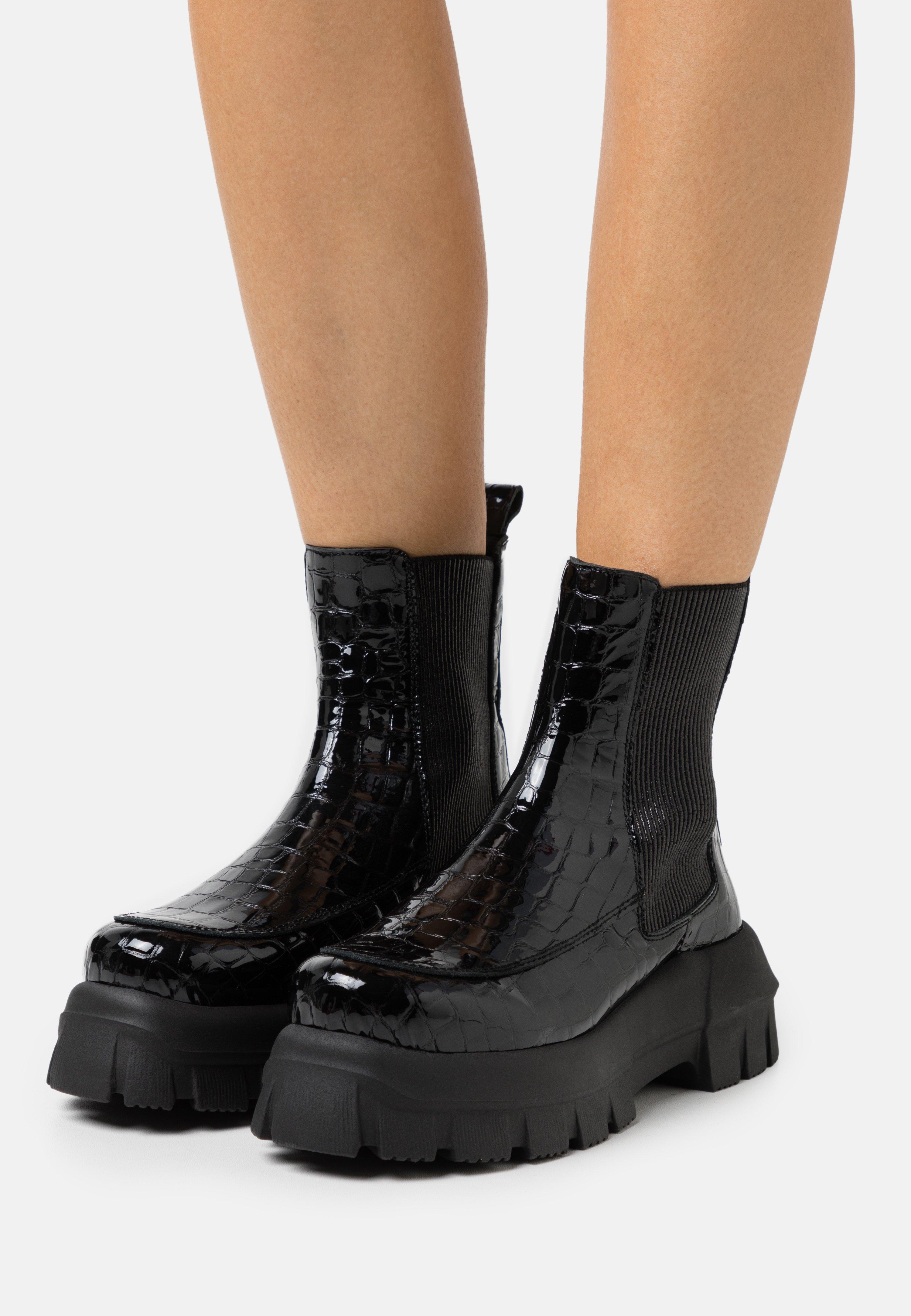 Women ALPHA CHUNKY - Platform ankle boots