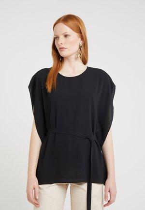 CAVA TOP - Blouse - black