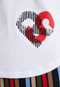 Sonia Rykiel - Print T-shirt - blanc casse - 5
