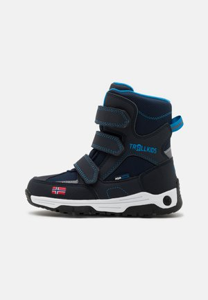 KIDS LOFOTEN UNISEX - Winter boots - navy/medium blue