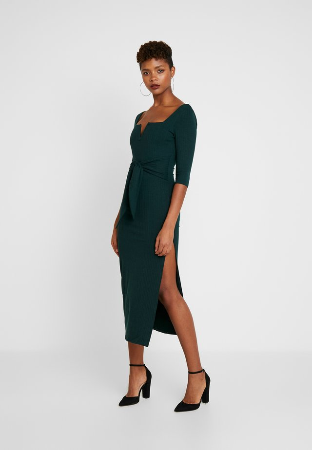 3/4 DRESS - Shift dress - green