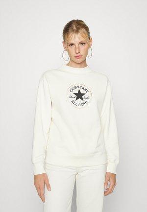 MYSTIC CHUCK PATCH - Sweatshirt - egret