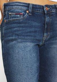 Tommy Jeans - MID RISE BERMUDA SAE - Denim shorts - blue denim - 5