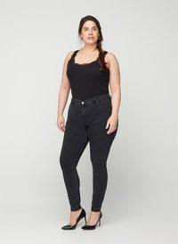 Zizzi - Jeans Skinny Fit - grey - 0